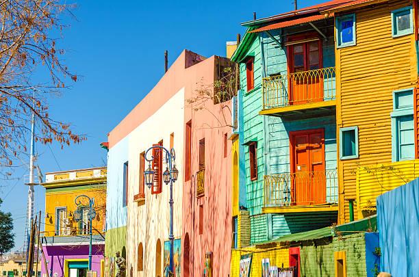 Caminito Street in Buenos Aires stock photo