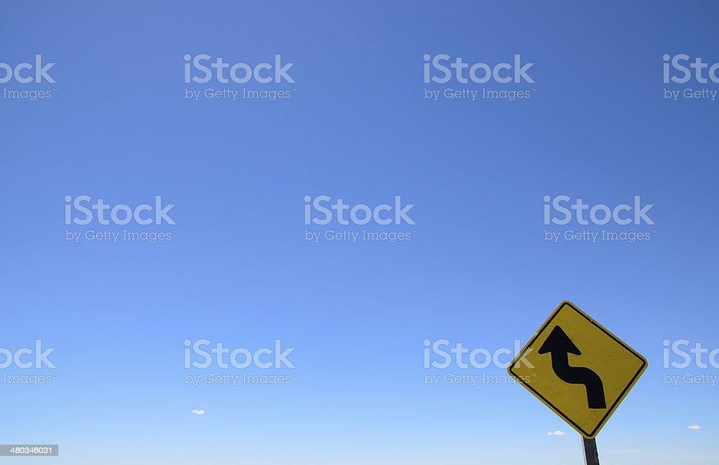 Camino al Cielo stock photo