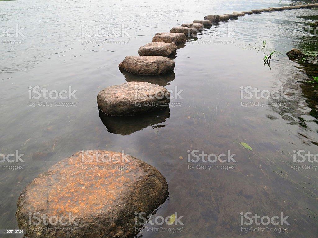 Camino stock photo