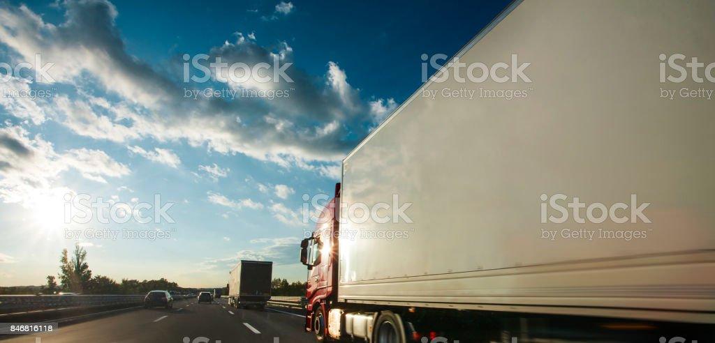 Camion stock photo