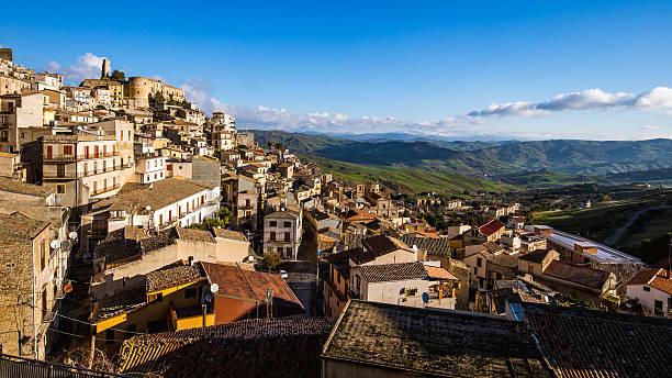 Cammarata im Zentrum von Sizilien – Foto
