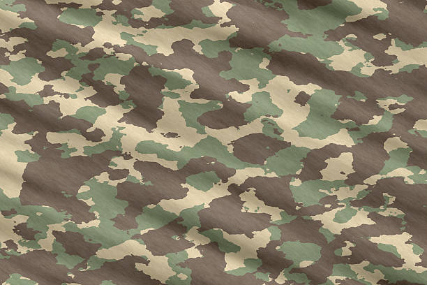 camo camouflage material stock photo