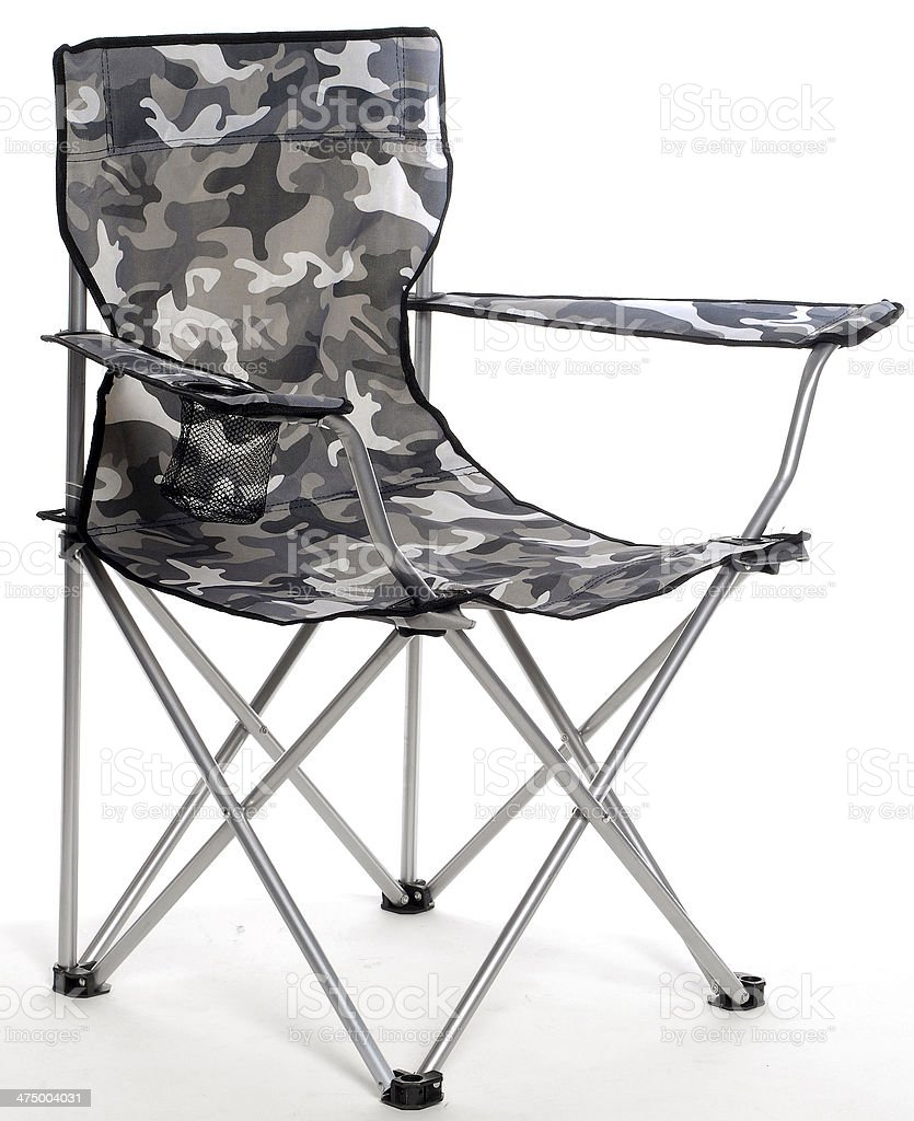 Excellent Camo Camping Fold Up Chair Stock Photo Download Image Now Unemploymentrelief Wooden Chair Designs For Living Room Unemploymentrelieforg