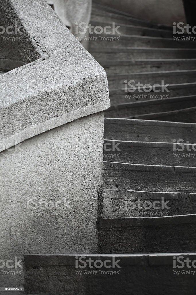 Camondo Stairs stock photo