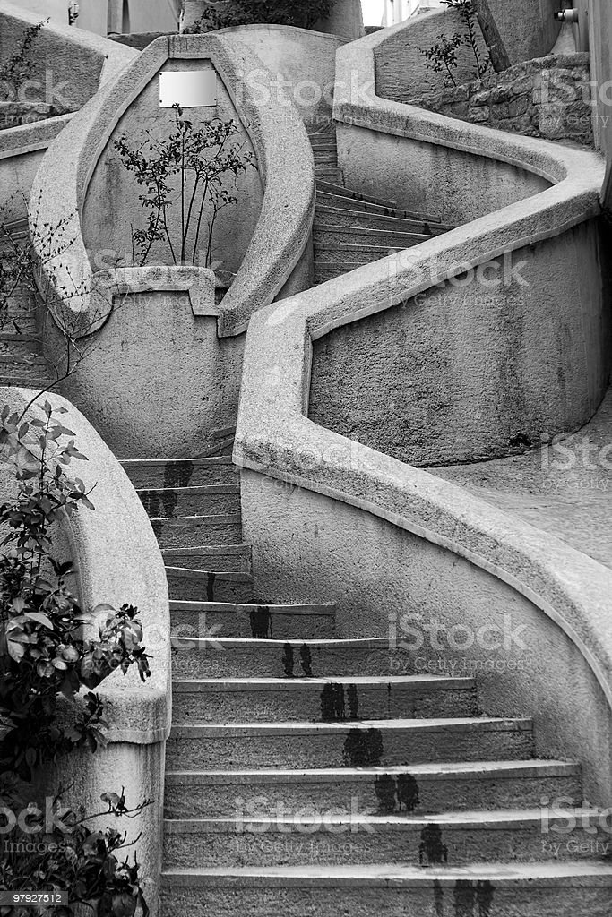 Camondo Stairs royalty-free stock photo