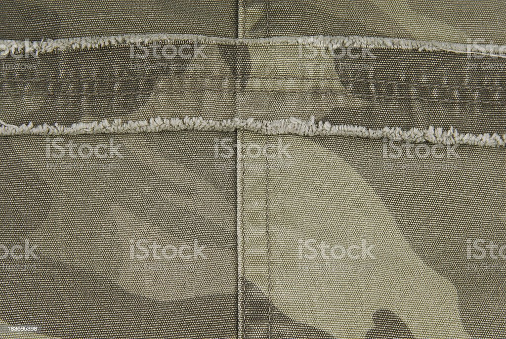camouflage fabric texture royalty-free stock photo