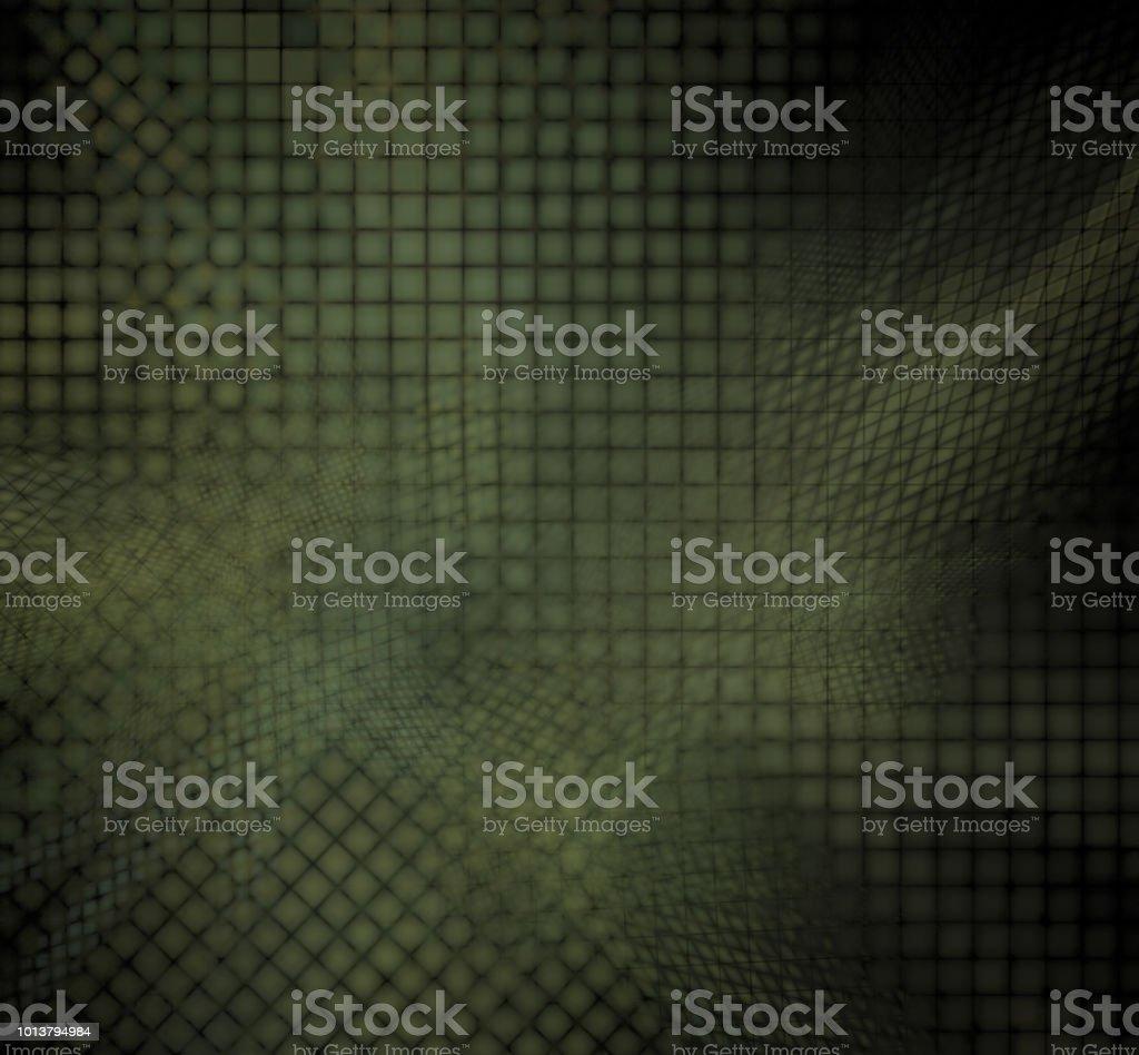 Camuflar pixel grade sobre um fundo preto. - foto de acervo