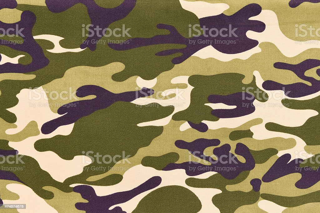 Camouflage pattern background or texture stock photo