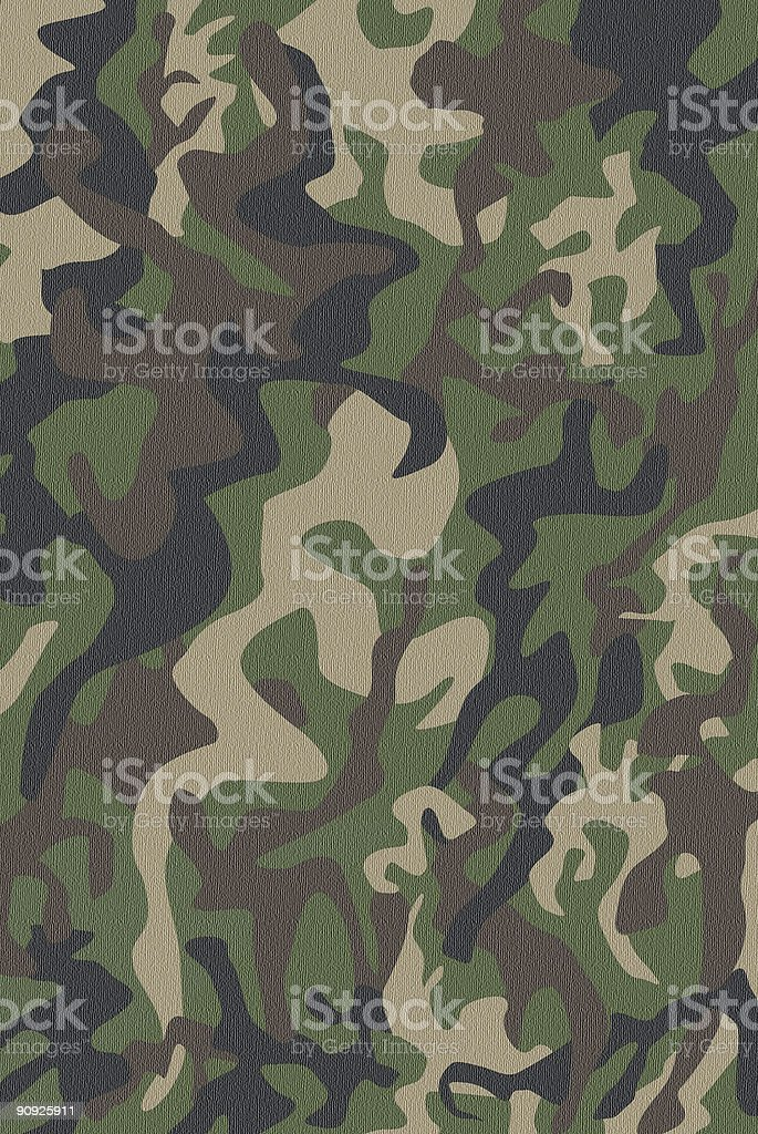 Camouflage Pattern royalty-free stock photo