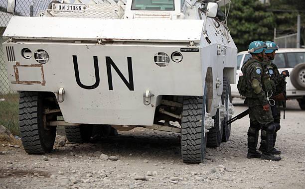 UN camp, Haiti