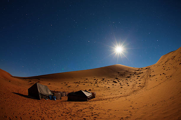 Best Sahara Desert At Night Stock Photos, Pictures ...