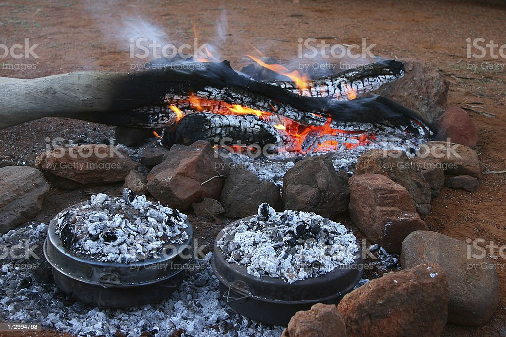 Camp Ovens royalty-free stock photo