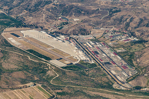 Camp Pendleton Camp Pendleton, California, USA - July 22, 2016: Marine Corps Camp Pendleton air base. military base stock pictures, royalty-free photos & images