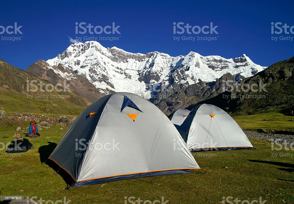Camp stock photo