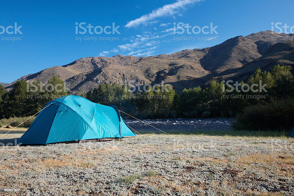 Camp royalty-free stock photo