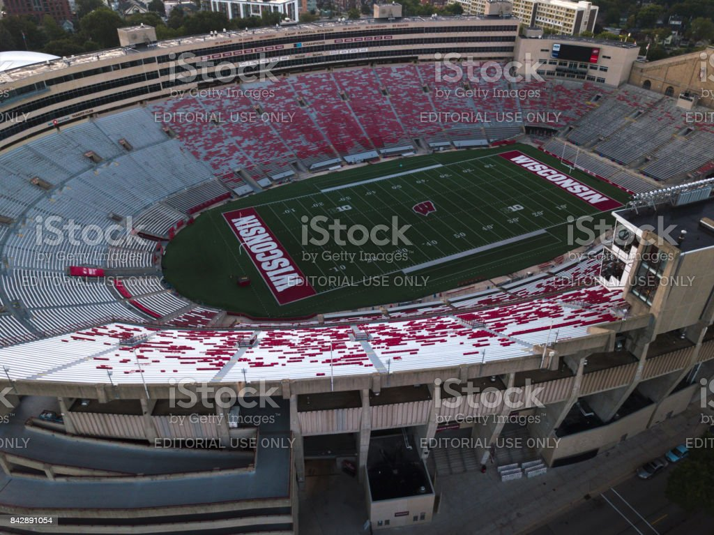 Camp Randall Stadium stock photo