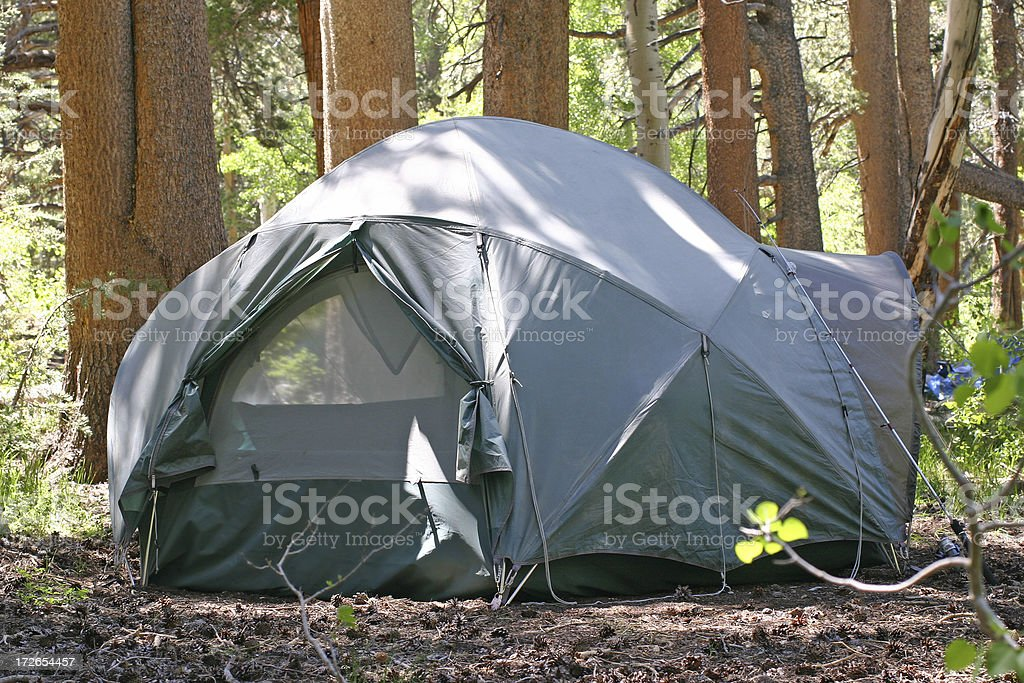 Camp Site royalty-free stock photo