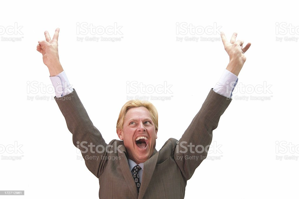 Campaign Victory royalty-free stock photo