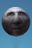 istock ONE Campaign with President Obama Balloon 476351798