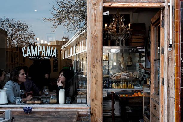 Campania Gastronomia - italian restaurant in London stock photo