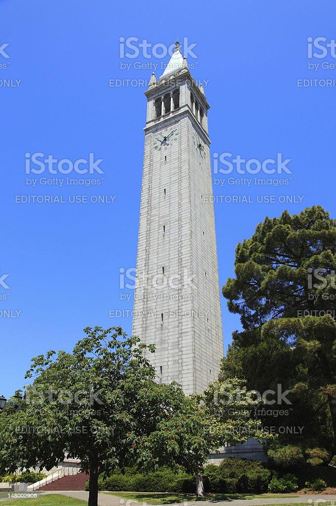 Campanil tower stock photo