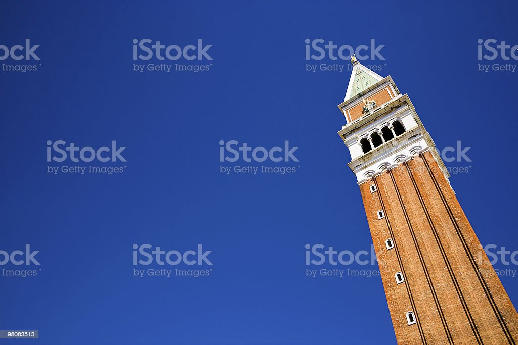 Campanile of Venice royalty-free stock photo
