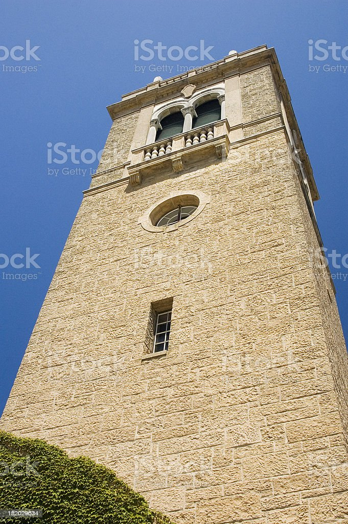 Campanile Tower Soars Upward royalty-free stock photo
