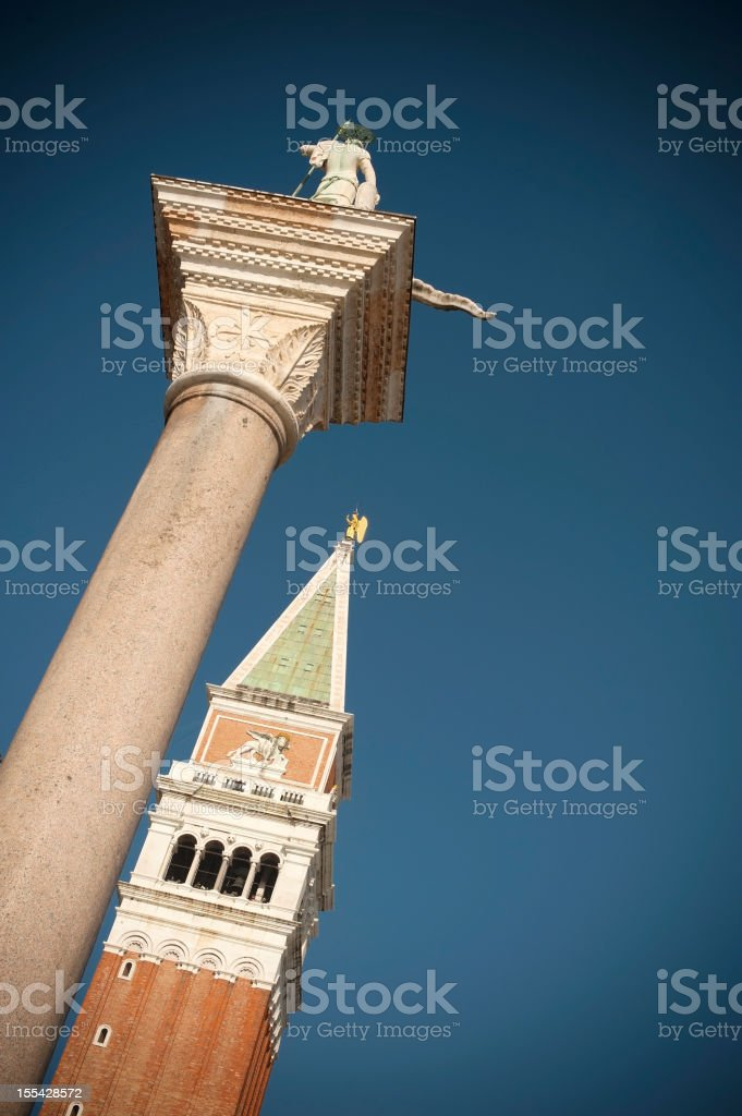Campanille royalty-free stock photo
