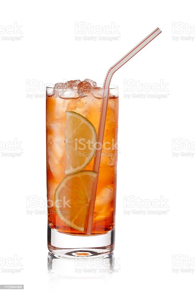 Campari Cocktail royalty-free stock photo