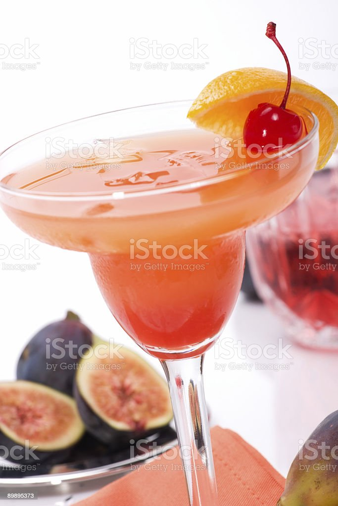Campari cocktail royalty-free stock photo