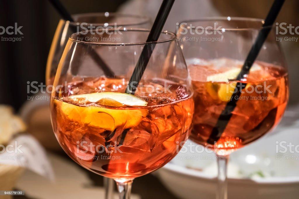 Campari orange royalty-free stock photo