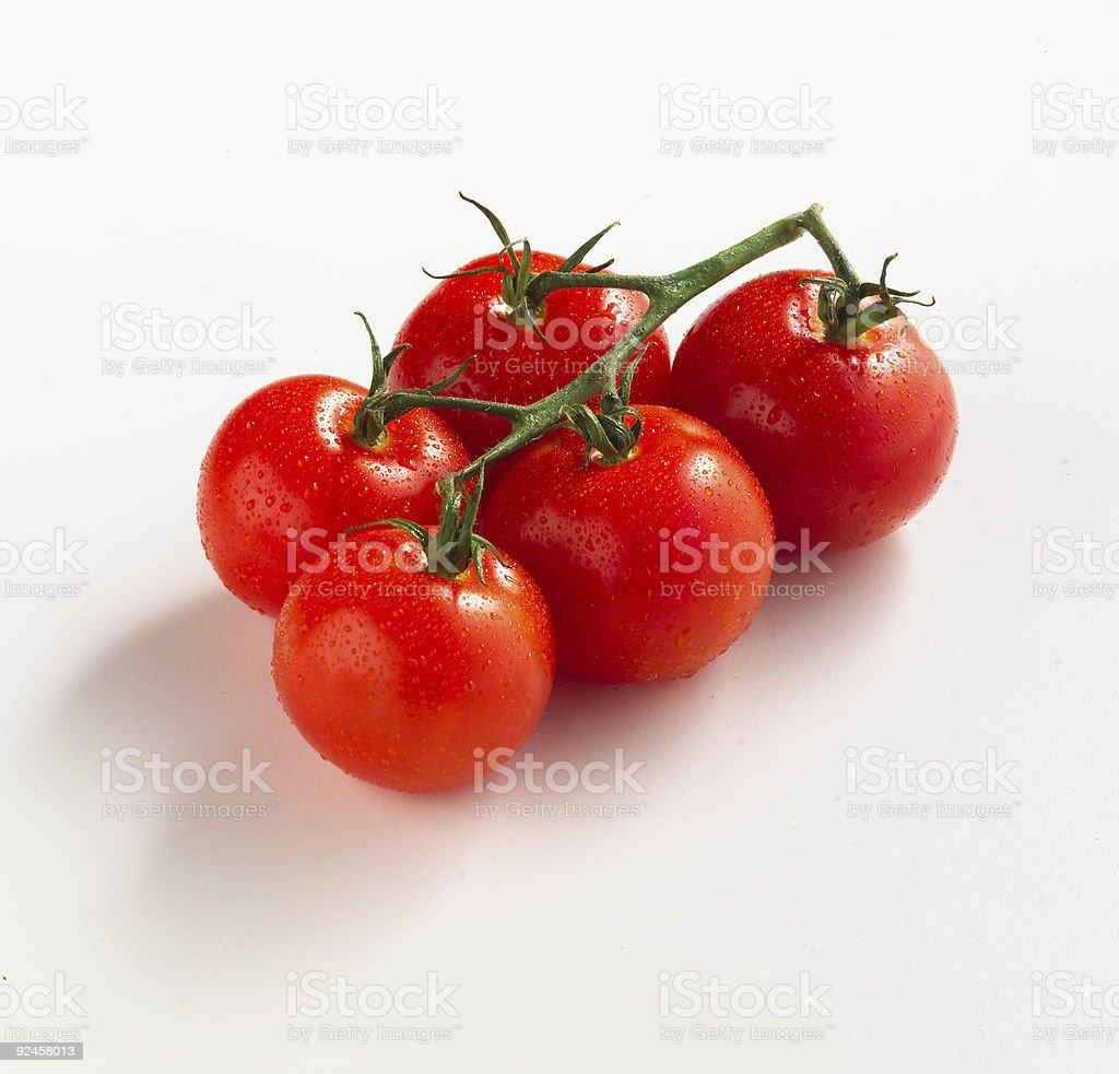 Campari tomatoes royalty-free stock photo
