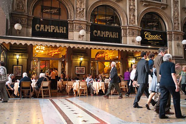 Camparino in Galleria stock photo