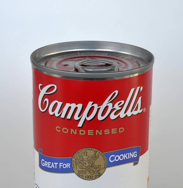 Campbell's Soup Can Isolated stock photo