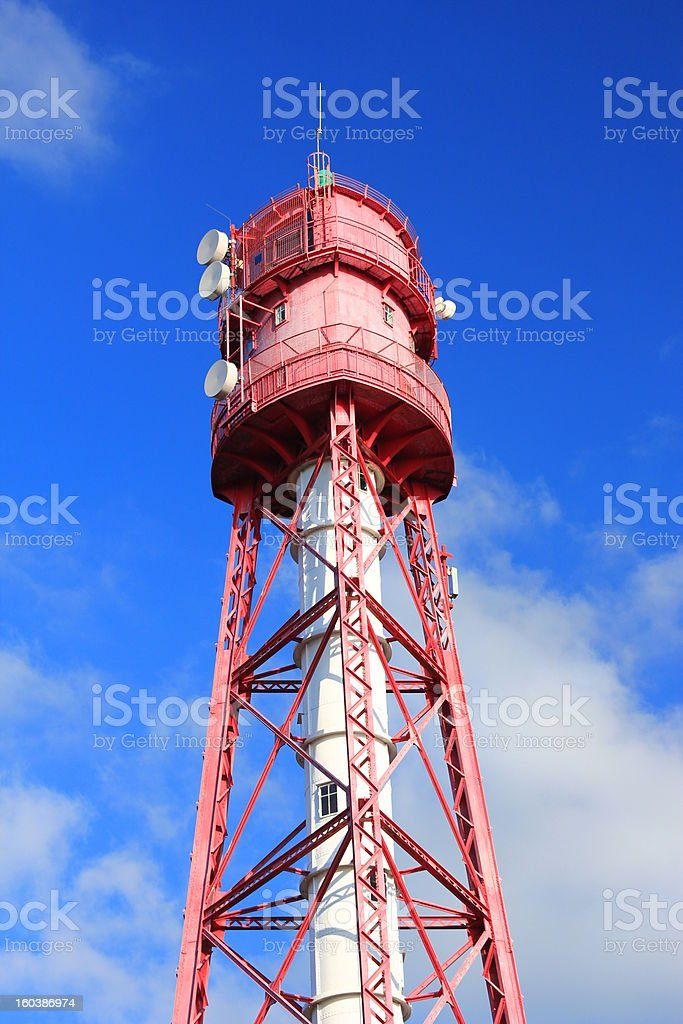 Campen Lighthouse Germany royalty-free stock photo
