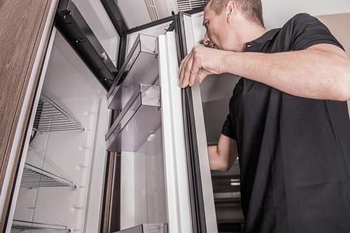 istock RV Camper Refrigerator Replacing 1197734523