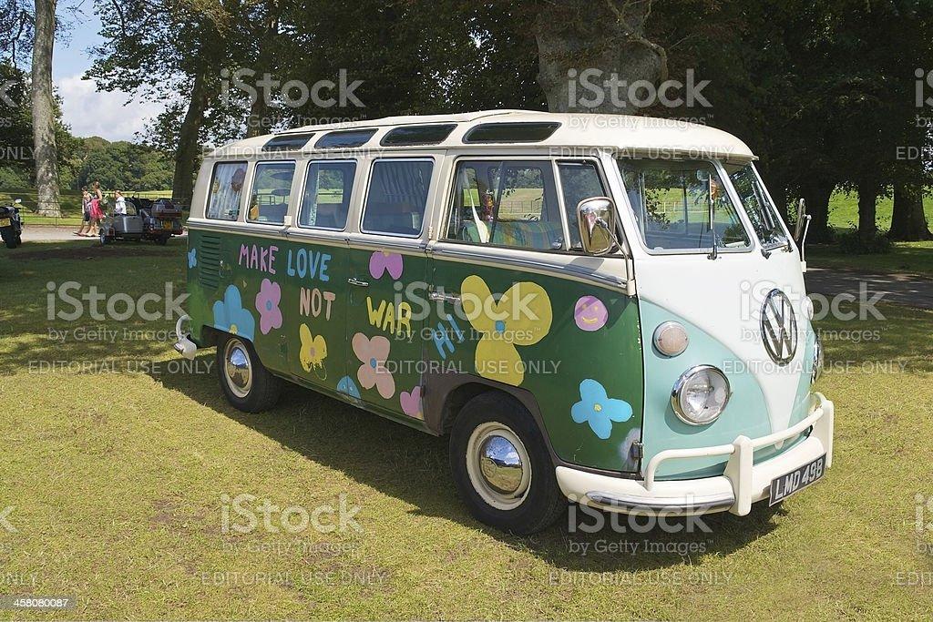 VW Camper Van stock photo