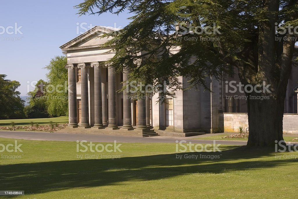 Camperdown House, Dundee stock photo