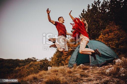 Campers jump , success