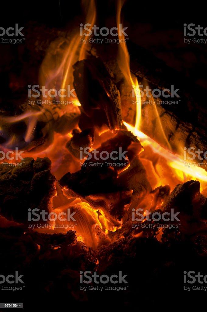 Campfire! royalty-free stock photo
