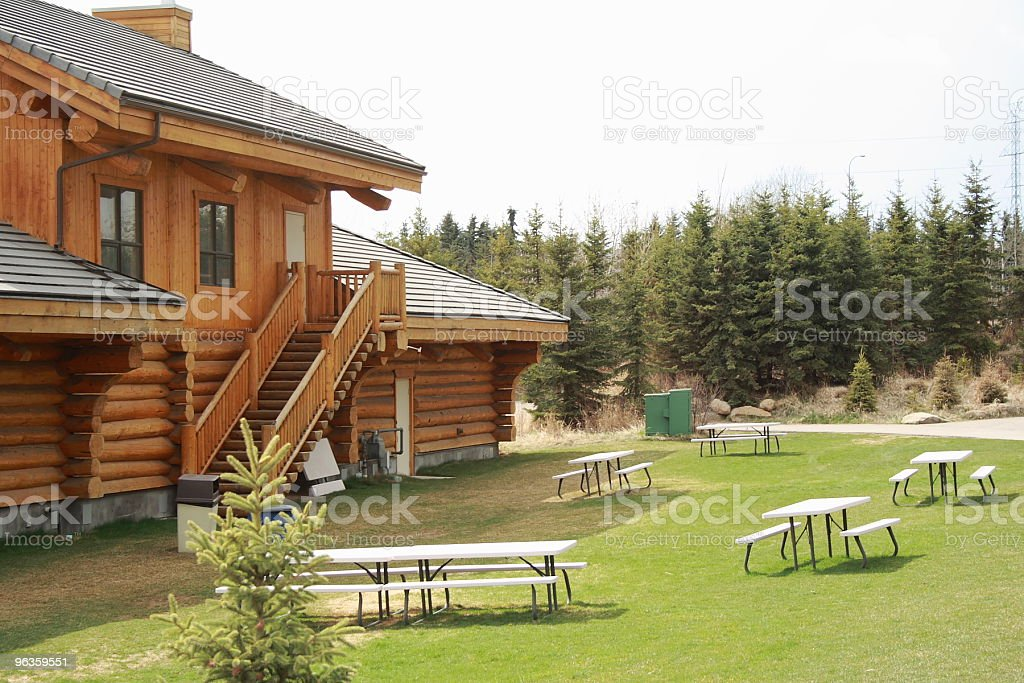 camping area royalty-free stock photo