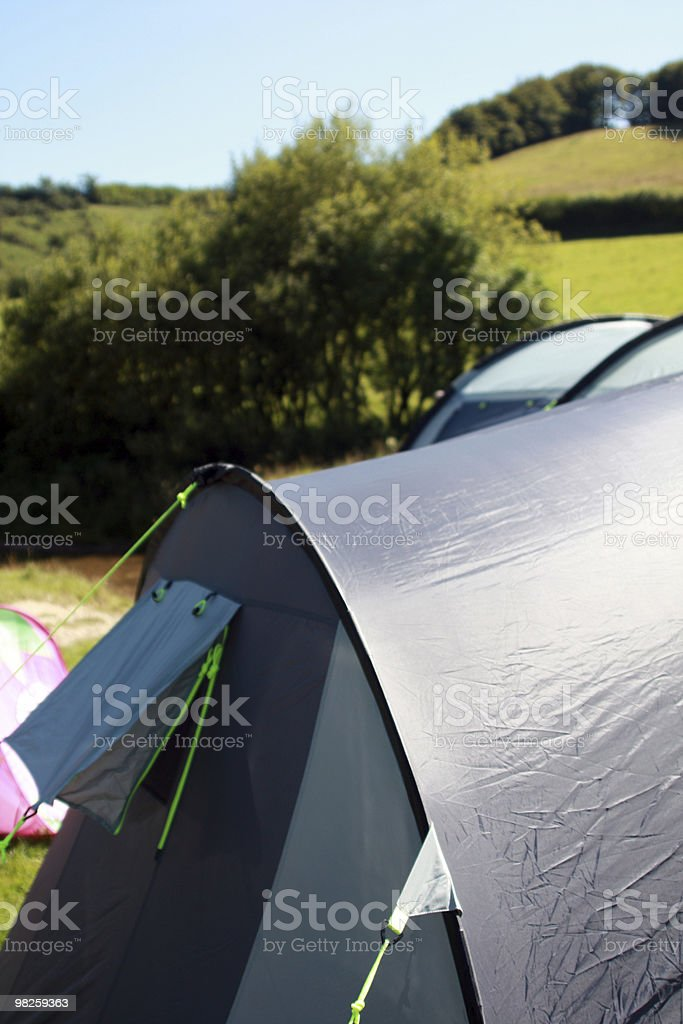 Camping Holiday royalty-free stock photo