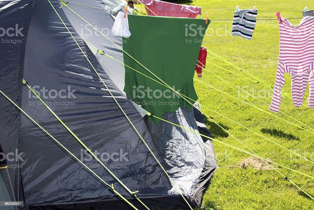 Camping Holidays royalty-free stock photo