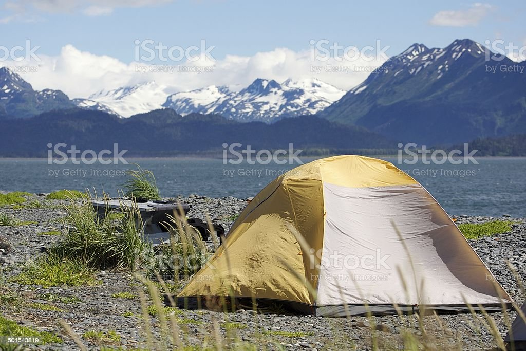 Camping in Alaska – Foto