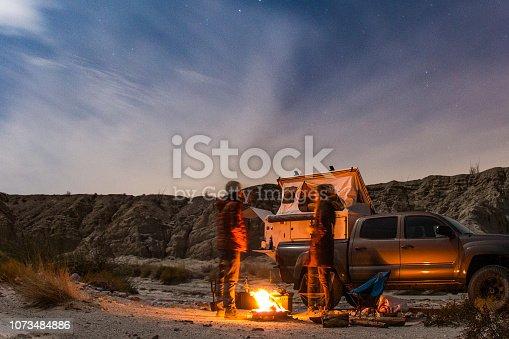 Camping in Anza Borrego Desert State Park