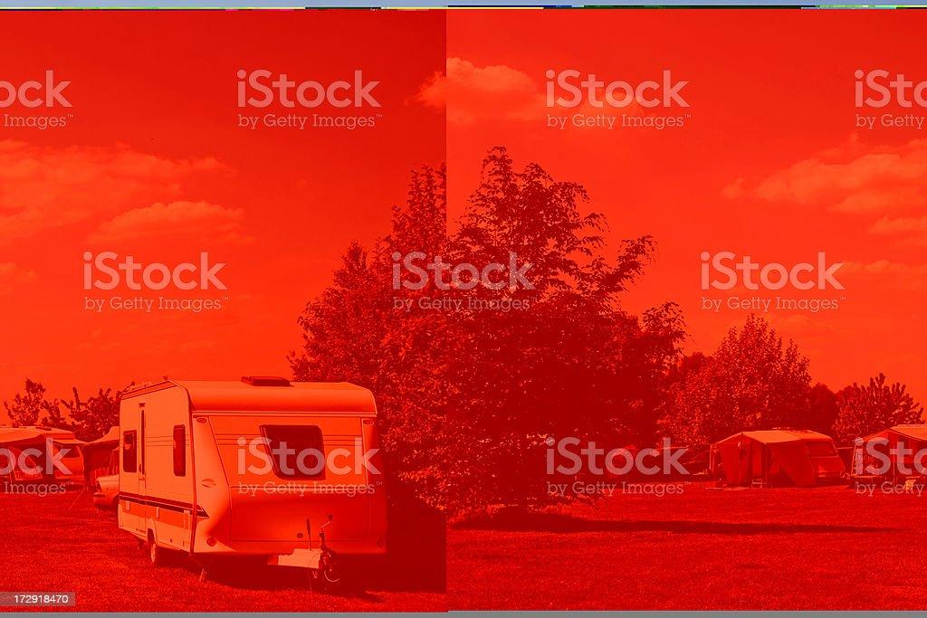 Camping life # 20 XL stock photo