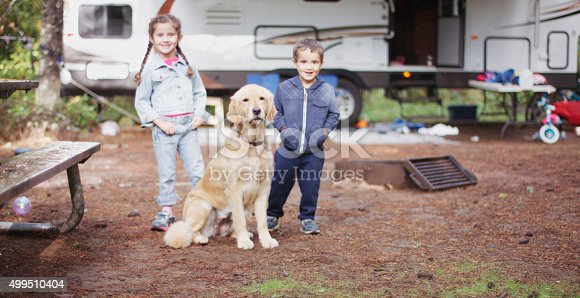 istock Camping on a Sunny Weekend 499510404
