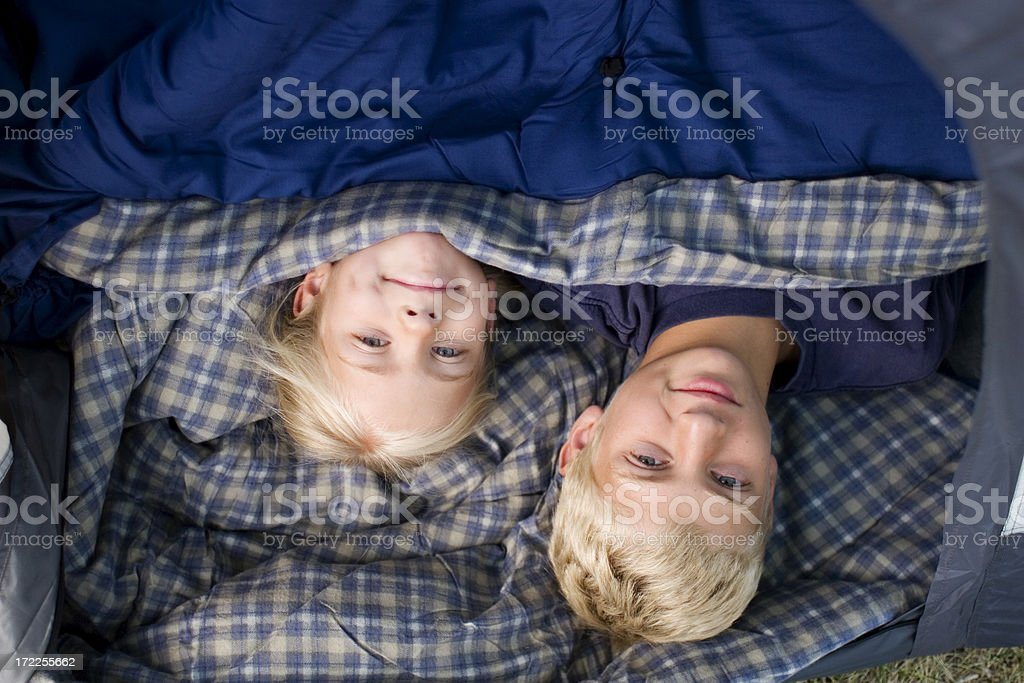 Camping Out royalty-free stock photo
