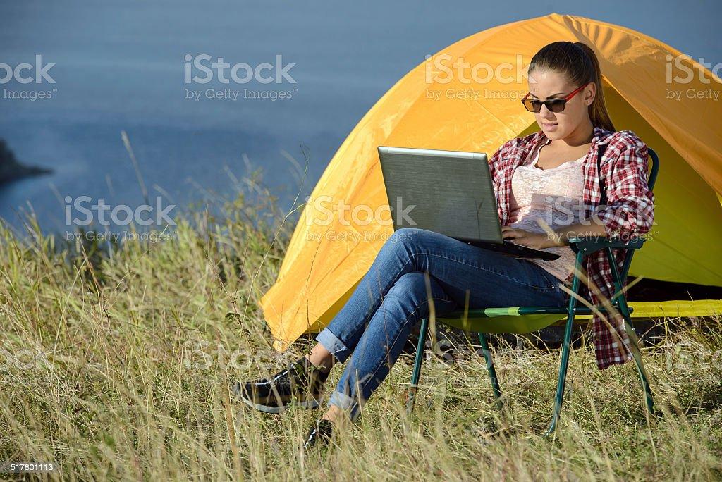 Camping - Lizenzfrei Camping Stock-Foto