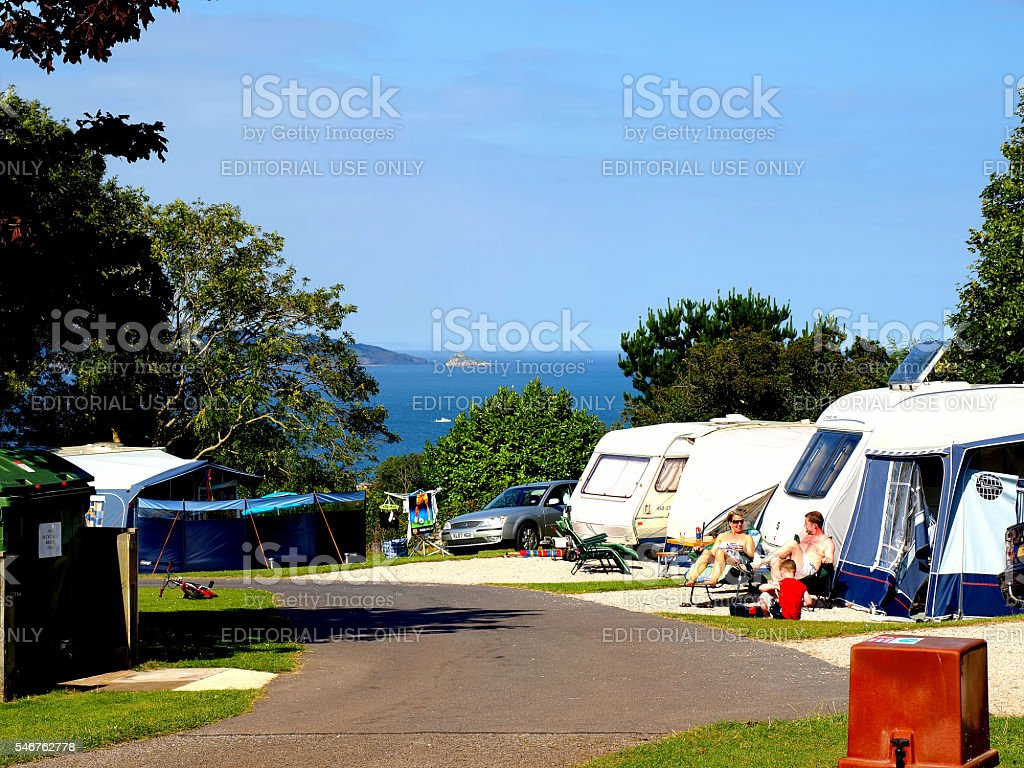 Camping. stock photo